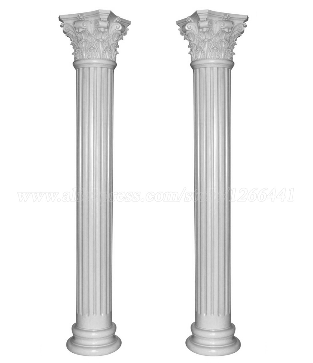 Roman Pillar Corinthian Style Column Carved Stone Gate