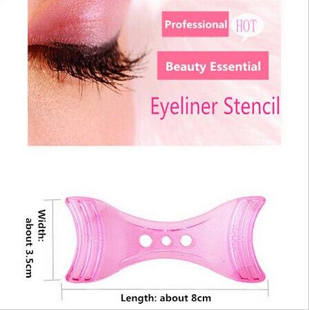 magic eyeliner stencil model beginner eye makeup helper