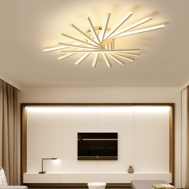Surface Mounted Modern led Ceiling Lights For Study Room Bedroom Living Room Stylish Home Deco AC85-265V Ceiling Lamp Fixtures new surface mounted led ceiling lights wood modern light fixtures for living room dining room bedroom led ceiling lamp 220v