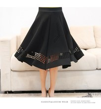 Vintage High Waist Korean Skirt
