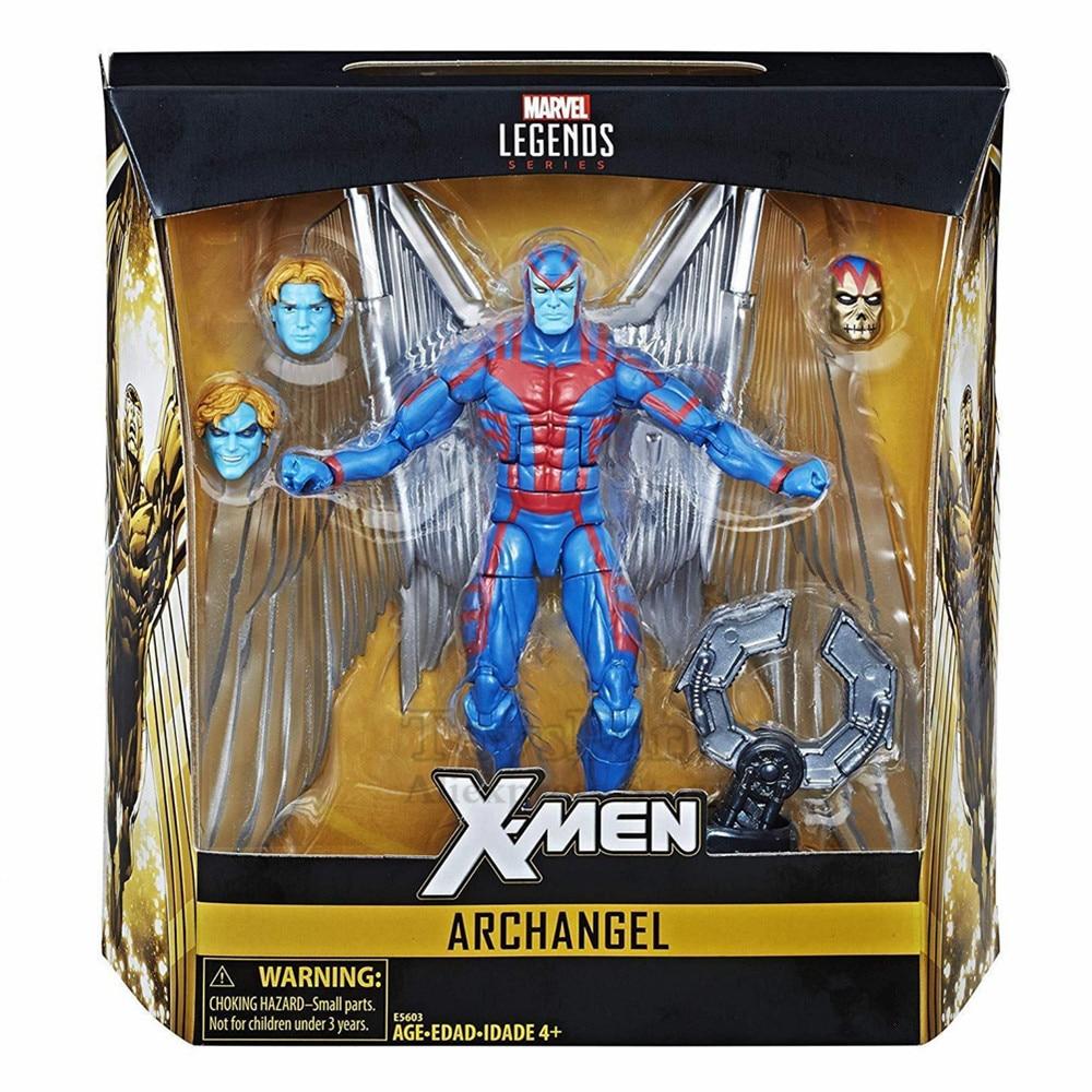 2018 Marvel Legends 6 Archangel Action Figure X Men Exclusive With Apocalypse Hand NEW IN BOX
