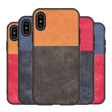Luxury Fashion  Fabric Cloth soft silicon cover case for iphone 6 S plus 7 7plus 8 8plus X XS XR MAX Cases Fundas x