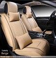 Cuero del asiento de coche especial cubre Para Todos Los Modelos de BMW E30/34/36/39/46/60/90 f30 f10 x3 x5 x6 del coche negro/gris/rojo/azul ACCESORIOS