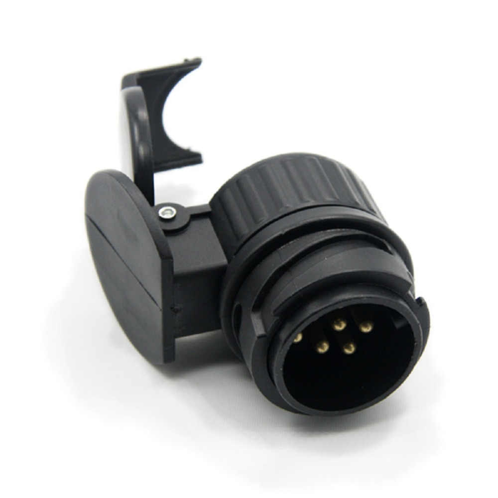 hight resolution of  tirol 13 to 7 pin trailer adapter black plastic trailer wiring connector 12v towbar towing plug
