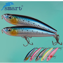 SMART Pencil Baits 105mm 22.41g Top Water Hard Fishing Lure With VMC Hook Iscas Artificial Para Pesca Leurre Peche Souple