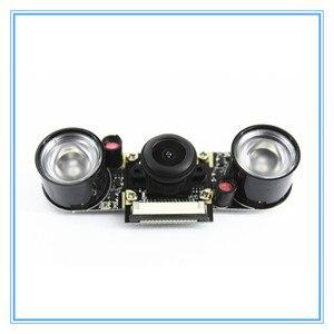 Image 3 - Raspberry Pi 3 Model B 5MP камера ночного видения OV5647 рыбий глаз веб камера 1080P широкоугольный модуль камеры для Raspberry Pi 3B +/3B/2B