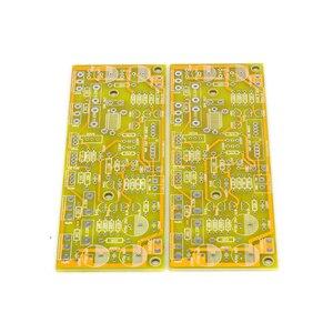 Image 4 - SUQIYA משלוח חינם SYM5 3 גבוהה הטיה כיתת אחורי שלב כוח מגבר PCB (100 W)