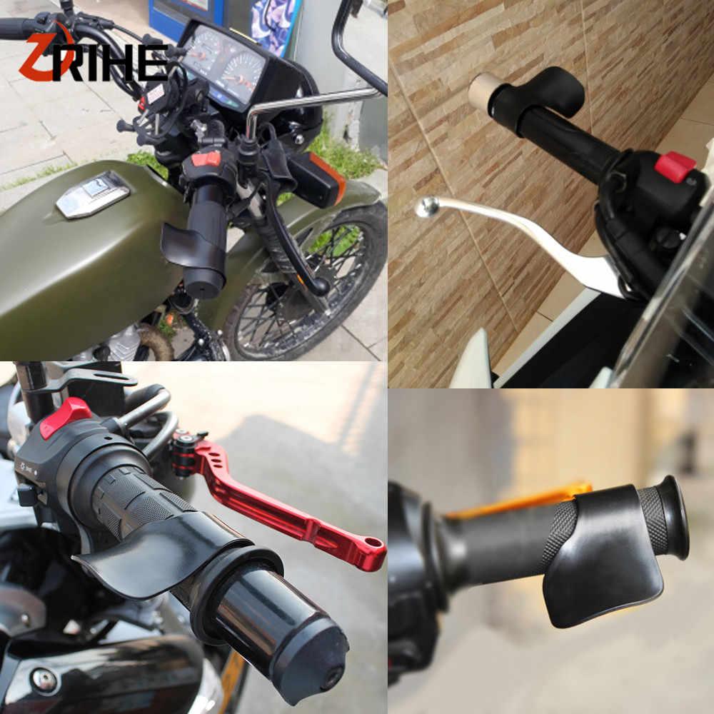 Universal รถจักรยานยนต์คันเร่ง Clamp ช่วยเติมน้ำมันคันเร่งสำหรับ Honda CB190R VT1100 GROM MSX125 XADV 750 X-11 CBR250R