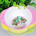 1pcs Toddler Baby Kids Child Feeding Training Bowl ,Binaural Baby Feeding Bowl Tableware Children Plate Bowl With Spoon 4 Color