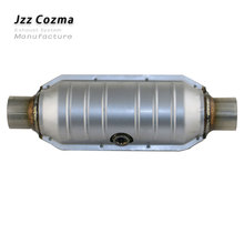 JZZ Universal car Euro 2 standard 400 cell ceramic catalytic converter replacement parts for exhaust about 2.6 3.2