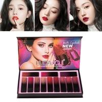 12 Pcs Nude Color Matte Lip Long Lasting Moisturizer Lip Makeup Matte Korean Makeup Batom Rouge Levre Mat Maquillajes Para TSLM2