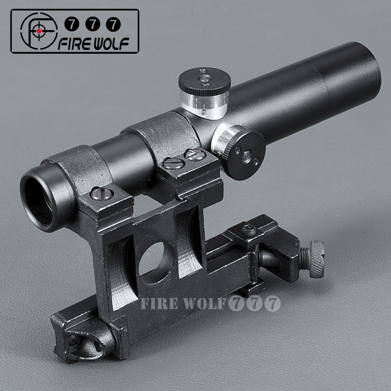 2018 New PU Mosin Nagant SVT-40 Scope 3.5X shockproof multi-coated hunting scope Free shipping басовый усилитель ampeg svt 3pro