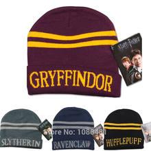 Harri Potter gorra Beanie Preppy traje Halloween Navidad  Slytherin Gryffindor Ravenclaw Hufflepuff sombrero( 3a5af655b5b