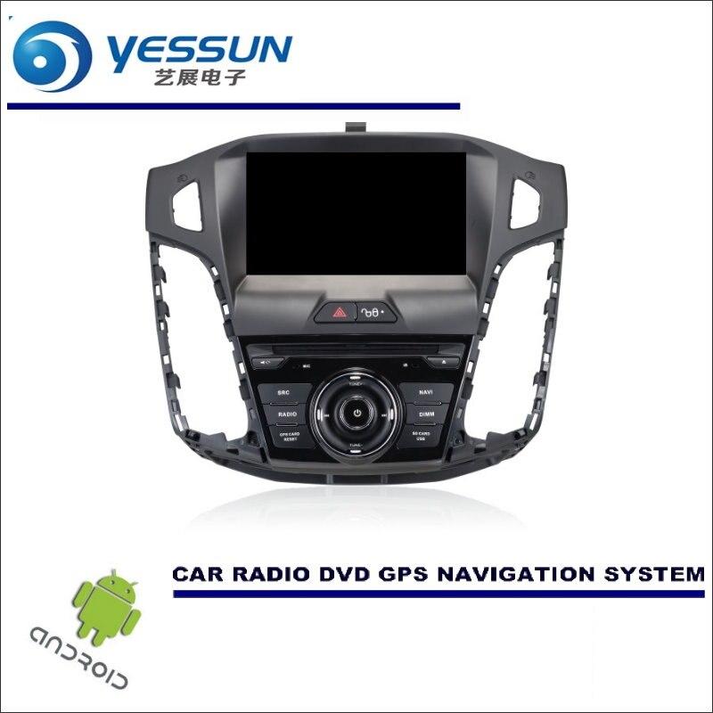 YESSUN Wince/Android автомобильный мультимедийный навигационная система для Ford для Focus 2012 ~ 2014 CD DVD gps плеер Navi Радио стерео экран