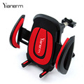Yianerm Car Phone Holder, One Touch Air Vent Car Mount Phone Stand Support For iPhone5s/6s/6plus,Samsung Galaxy S7 Edge,Vivo,GPS
