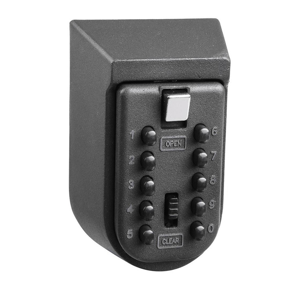 Key Safe Box Aluminium Alloy Wall Mounted Home Safety Password Security Lock Storage Boxes With Code HJ55