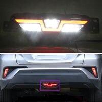 For Toyota CHR C HR 2016 2018 Car Rear Bumper Stop Tail Lamp Brake Light Indicator