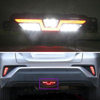 For Toyota CHR C HR 2016 2018 Car Rear Bumper Stop Tail Lamp Brake Light Indicator