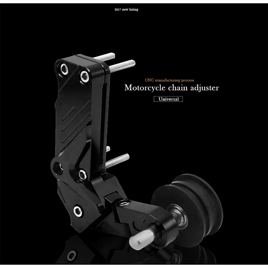 Universal Motorcycle Rear Axle Spindle Chain Adjuster Blocks chain adjuster tensioners For mt07 yamaha r6 cafe racer kawasaki er motorcycle rear axle spindle chain adjuster blocks chain adjusters tensioner for yamaha mt 07 2013 2016 fz 07 2015 2016