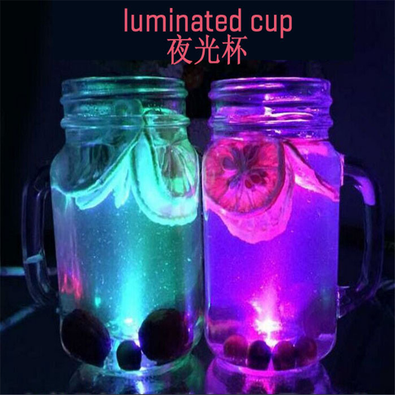 LED light cup glass flashing glasses luminous cup birthday party Halloween Chirstmas gift 150809
