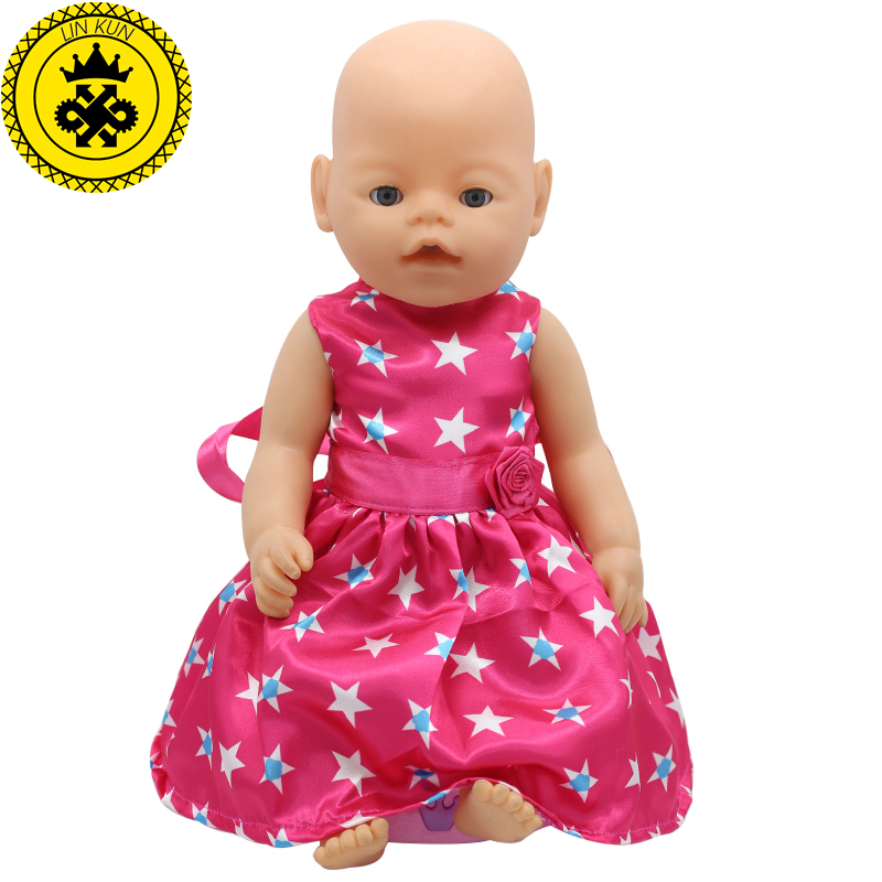 Baby-Born-Doll-Accessories-15-Styles-Princess-Dress-Doll-Clothes-Fit-43cm-Baby-Born-Zapf-Doll-Clothes-Birthday-Gift-D4-5