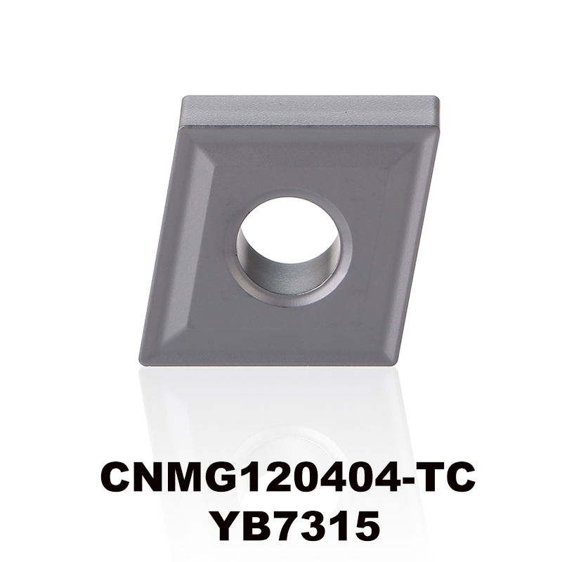 CNMG120404-TC YB7315 for K type material tungsten carbide turning insert CNC tool CNMG120404 <font><b>CNMG</b></font> <font><b>120404</b></font> CNMG432 image