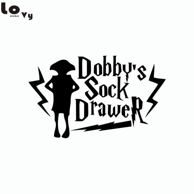 Claaic Movie Harry Potter Dobbys Sock Drawer Wall Sticker