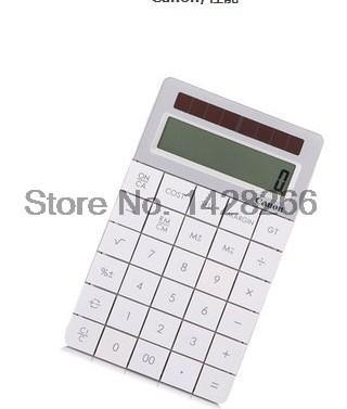 Canon X Mark I calculator Authentic Keypad Calculator Solar calculator office fashion boutique Free shipping
