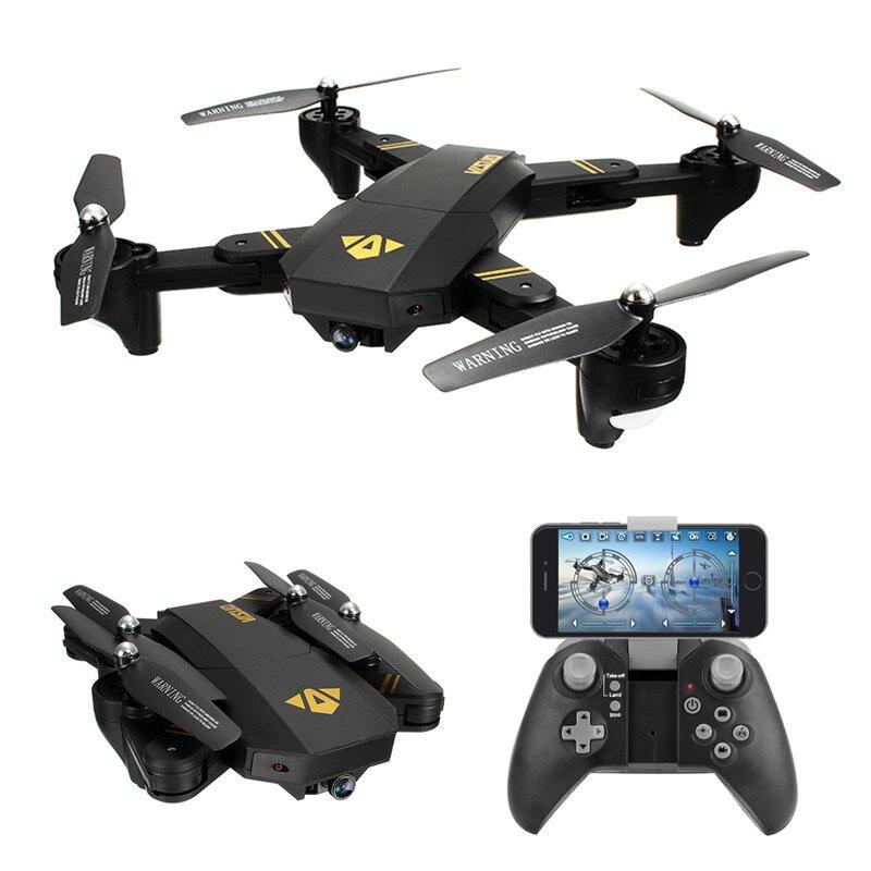 VISUO XS809HW XS809W WIFI FPV Pieghevole Braccio FPV Quadcopter Con 2MP 0.3MP HD Della Macchina Fotografica 6 Assi Senza Testa il Mantenimento di Quota RC Drone Giocattolo RTF