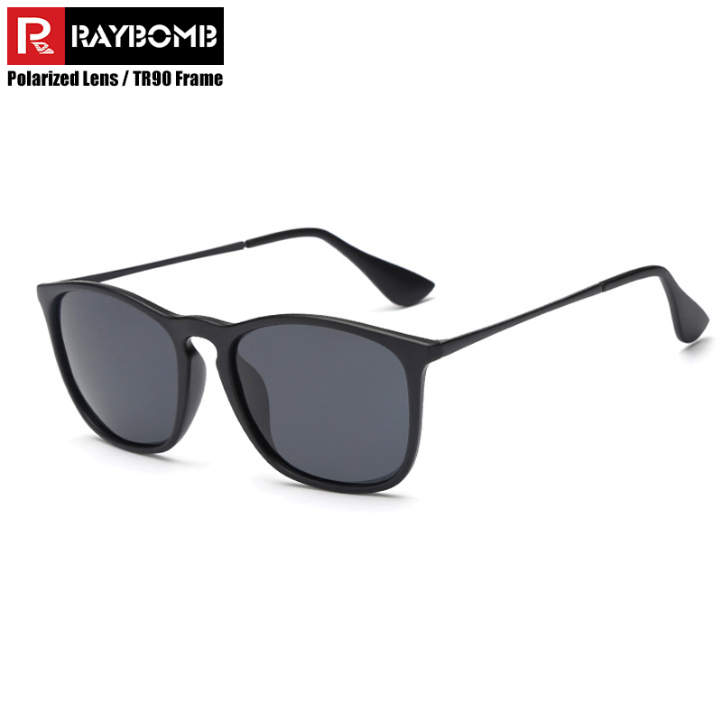 RAYBOMB - Fashion Polarized Sunglasses Women Men Sun <font><b>glasses</b></font> Retro ladies Erika Style Sunglass