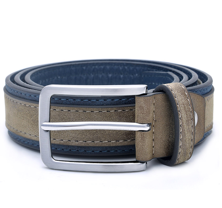 Fashion Men Luxury Designers Brand Casual Patchwork Belts