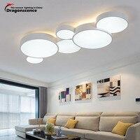 Dragonscence современный светодиодный потолочная люстра для гостиной вход Обеденная умный дом лампы Главная светильники