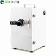 Стоматологический пылеуловитель цифровой контроль двухколесный двигатель сильная мощность стоматологический вакуумный пылеуловитель для стоматологической лаборатории TW133