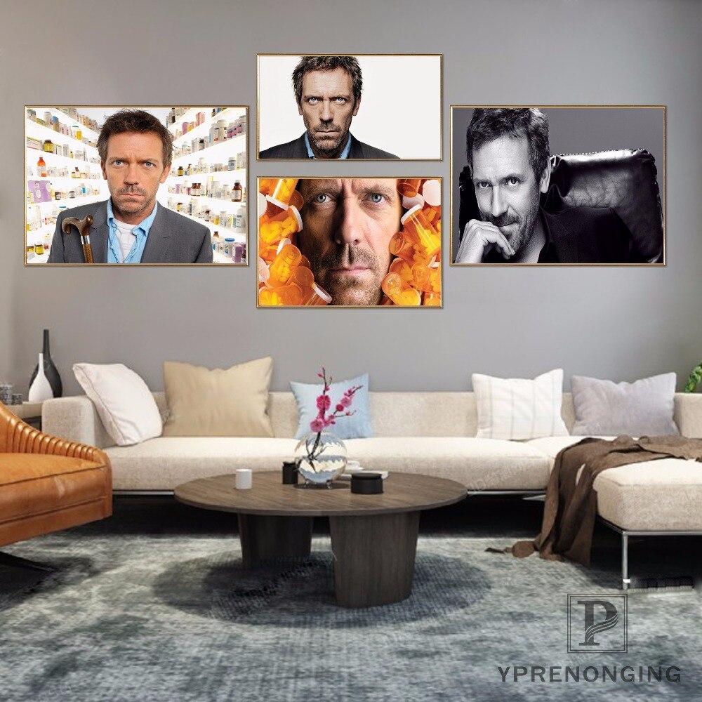 TV Season Shows Art Silk Poster 12x18 24x36 House MD Colour Pills