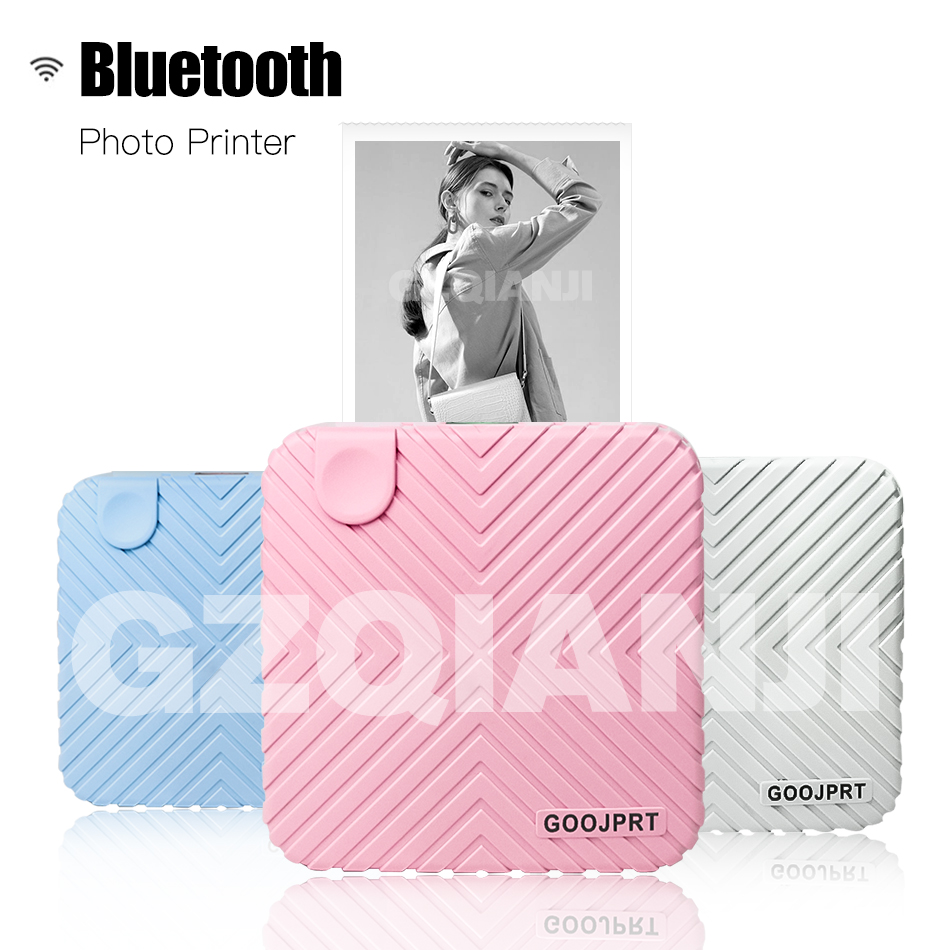GZM5815 New Peripage GOOJPRT Inkless Bluetooth Pocket Portable A6 Peripage Thermal Printer Picture Mobile Mini Photo