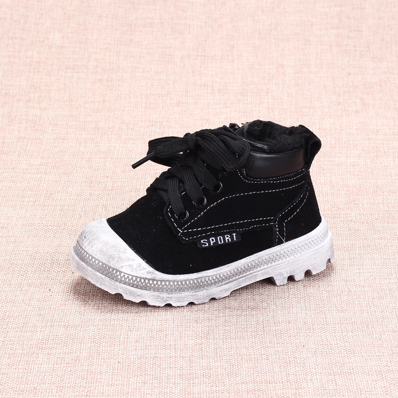 Baby First Walkers Baby Shoes Fashion Non-slip Winter Warm Toddler Shoes for Baby Boys