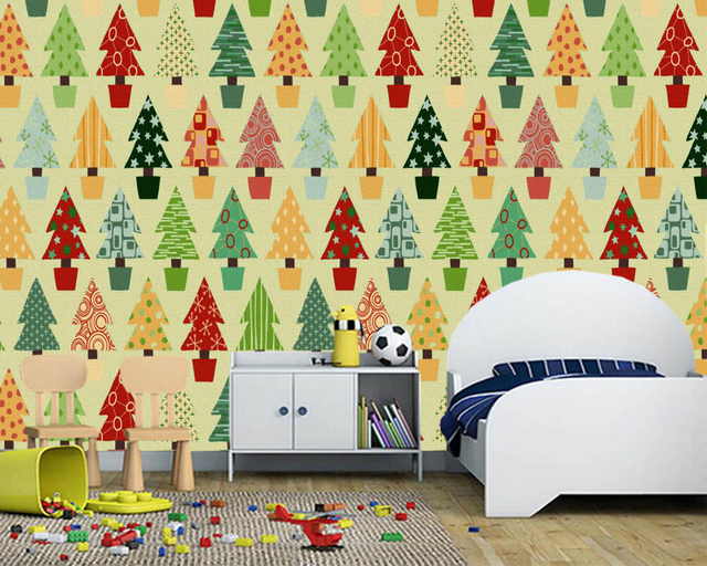 papel de pared christmas tree photo new year tree wallpaperliving room sofa tv wall