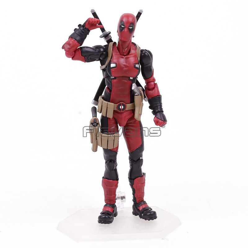 Figma EX-042 Deadpool DX Ver. Limited Edition Action Figure Collectible Model Toy shfiguarts batman injustice ver pvc action figure collectible model toy 16cm kt1840