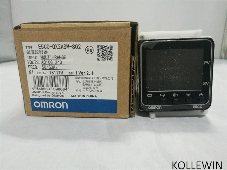 E5CC-QX2ASM-802 OMR Temperature Controller, E5CCQX2ASM802 Sensor NEW in Box, E5CC QX2ASM 802 dtb4848cr delta temperature controller new in box