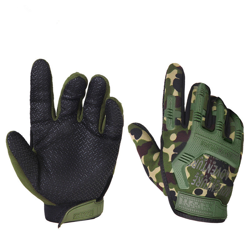 2019 Army Fans Army Training Climbing Wearproof Combat Tactical Gloves Men Outdoor Shooting Cycling Antiskid Full Finger Mittens(China)