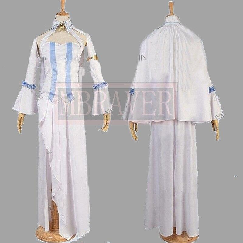 Owari no Seraph Horn Skuld Cosplay Costume