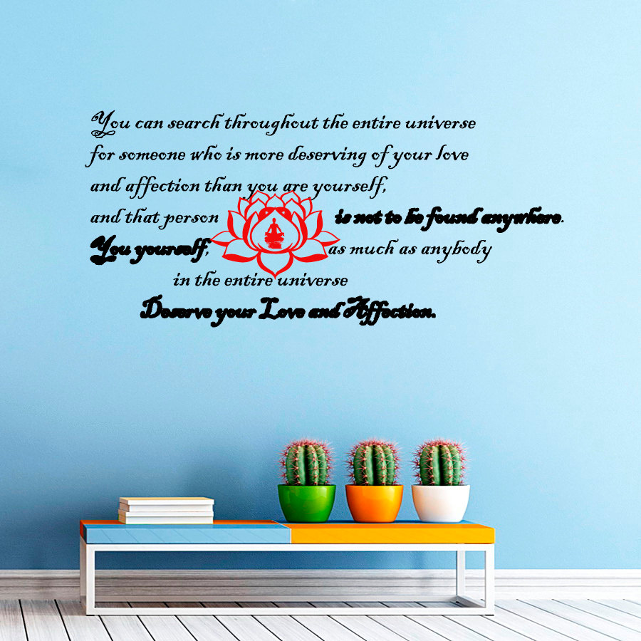 online get cheap text decoration style aliexpress com alibaba group dctop 2015 new style living room removable red lotus wall sticker text vinyl waterproof home decor