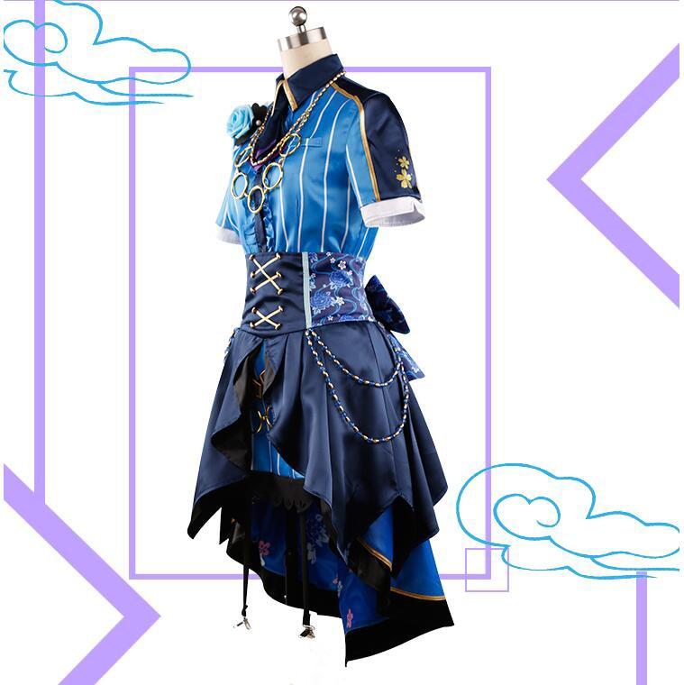 Anime The IDOLM STER Cinderella Girls Starlight Stage lippstulip Shiomi Syuko Kimono sj Uniform Dress Cosplay