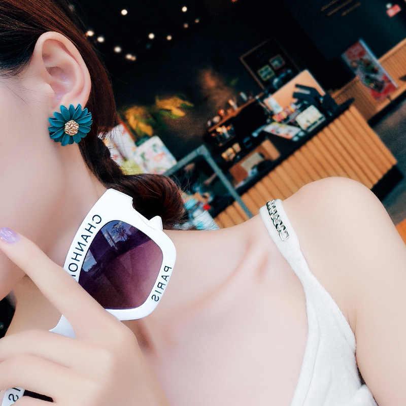 Phong Cách Hàn Quốc Dễ Thương Nhỏ Hoa Cúc Bông Tai Nữ Thời Trang Mới Ngọt Bông Tai D'oreille Sỉ Trang Sức