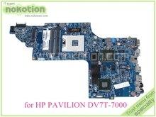 "48.4ST06.021 681999-001 For hp pavilion DV7-7000 DV7T-7000 motherboard Nvidia HD4000 17.3"" ddr3"