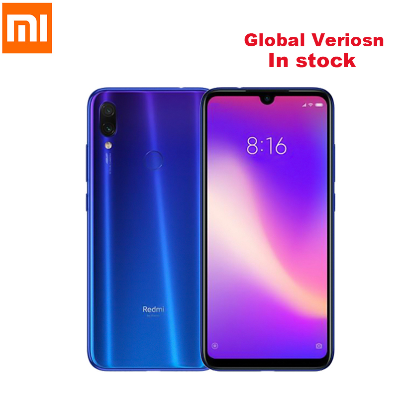 Xiaomi Redmi Note 7 4G Smartphone 6.3 ''MIUI 10 Qualcomm Snapdragon 660 Octa Core 3 GO + 32 GO 48MP + 5MP Cam Digitales Téléphone Portable
