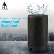 Mini Column Bluetooth Speaker IPX5 Waterproof Stereo Subwoofer Portable Wireless Speaker Sound Box Power Bank 12 Hour-Playtime(China)