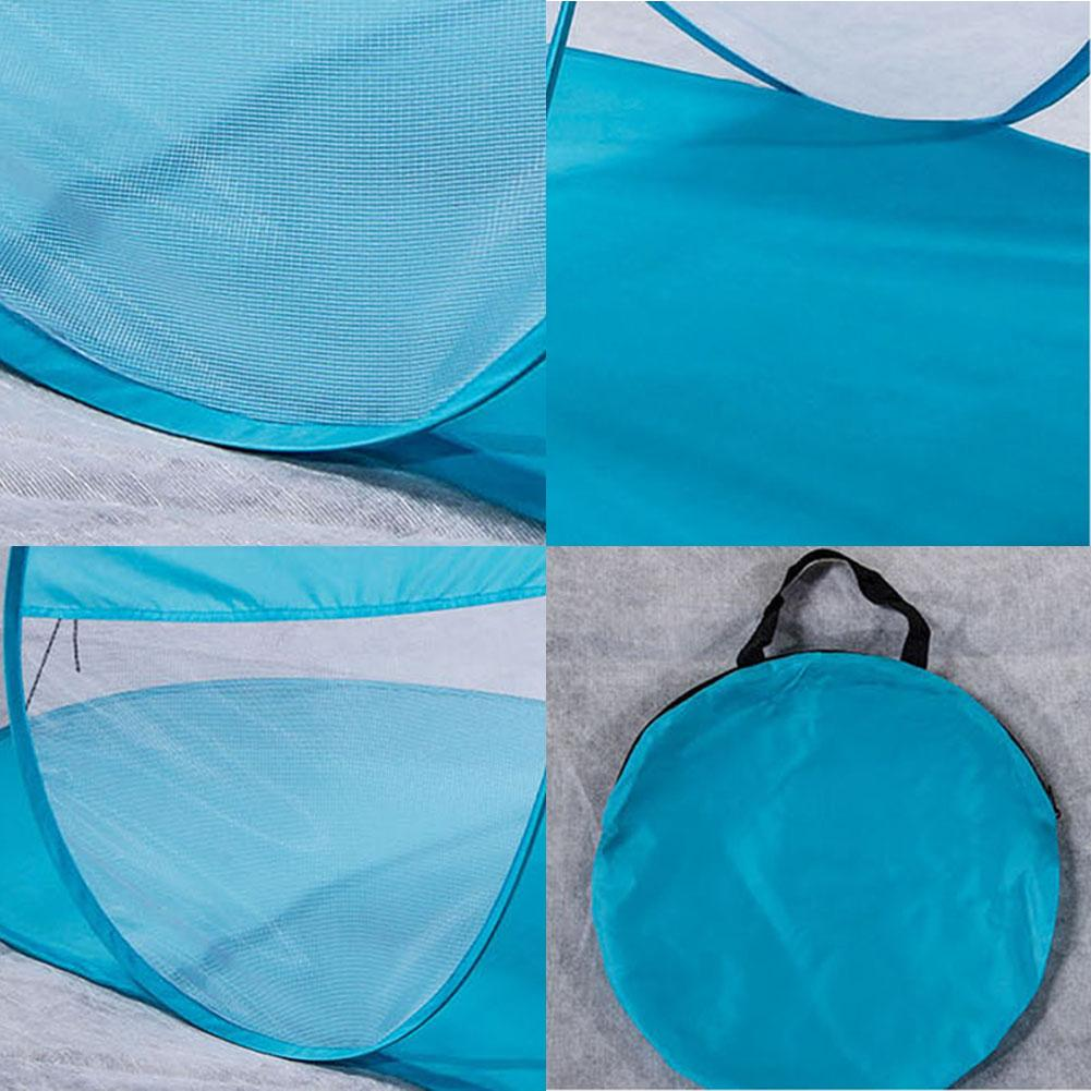Portable Sun Shelter Foldable Lawn Summer Outdoor UV Tarp Sun Shade Pop Up Cabana Camping Awning Sunshade Beach Canopy Tent in Outdoor Tools from Sports Entertainment