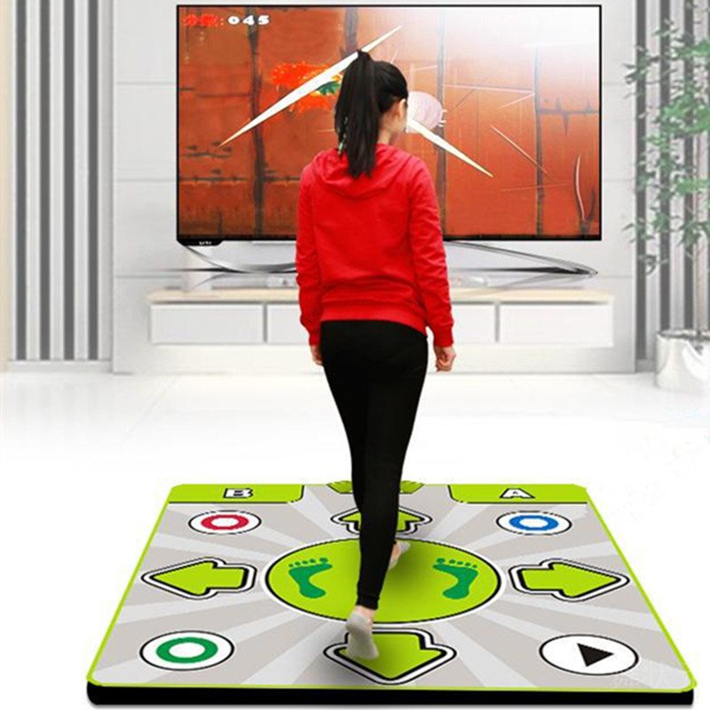 Dance mats Yoga / Cut fruit multifunction 30 game dance blanket television computer dual-use Household game Weight-loss Non-slip