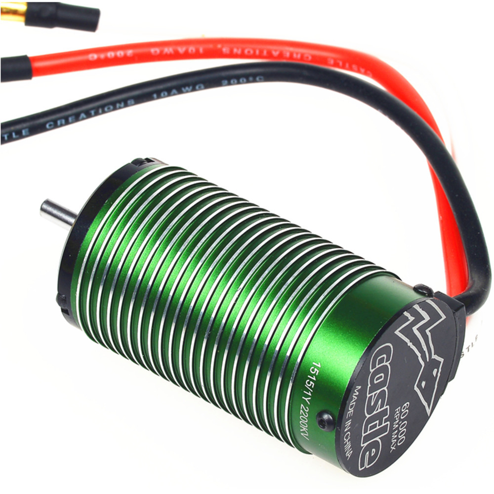 Castle Creations Neu-Castle 1515 1Y 1/8 Brushless Motor 2200kV For HPI HOBAO  TRAXXAS Team Magic